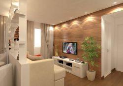 Muebles y plantas en espacios pequeños
