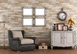 Habitación vintage con muebles que ayudan a remodelar el espacio